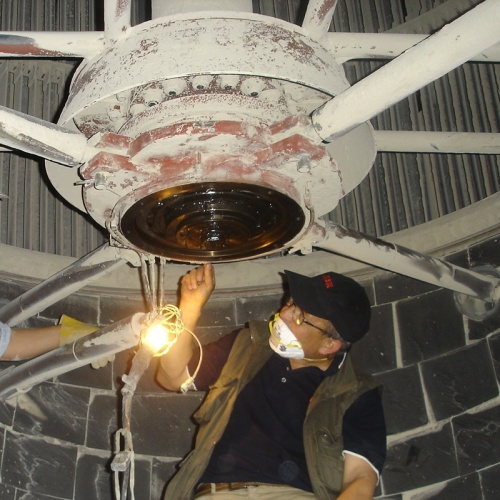 Cement Fan - Bearings inspection