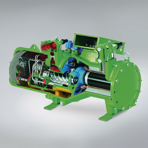 Screw compressor (source: Bitzer)